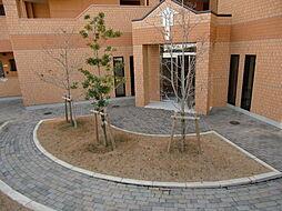 エントランス中庭