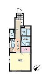 ランドフォレスト板橋徳丸II[1階]の間取り