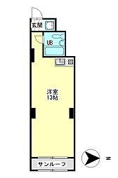 丸宏マンション[1階]の間取り