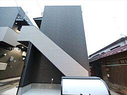 愛知県名古屋市北区城東町4丁目の賃貸アパートの外観