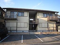 埼玉県越谷市千間台西5丁目の賃貸アパートの外観