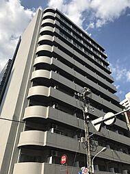 東京都港区芝1丁目の賃貸マンションの外観