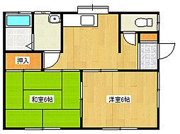 [一戸建] 神奈川県相模原市中央区緑が丘1丁目 の賃貸【神奈川県 / 相模原市中央区】の間取り