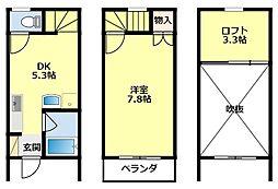 [タウンハウス] 愛知県豊田市小坂本町5丁目 の賃貸【/】の間取り