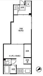 東京都江東区三好2丁目の賃貸マンションの間取り