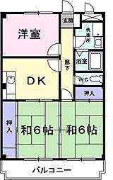 メゾンエトワールII[4階]の間取り