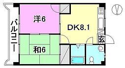 第79杉フラット[302 号室号室]の間取り