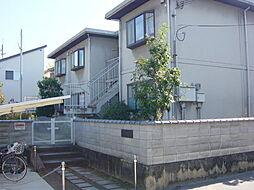 大阪府高槻市野田2丁目の賃貸アパートの外観
