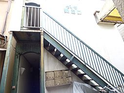 京都府京都市東山区粟田口三条坊町の賃貸アパートの外観