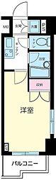 東京都港区南麻布2丁目の賃貸マンションの間取り