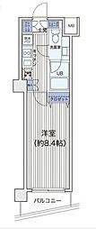 東京都大田区萩中3丁目の賃貸マンションの間取り