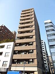 東京都港区南麻布2丁目の賃貸マンションの外観