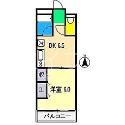 レガシィ21[8階]の間取り