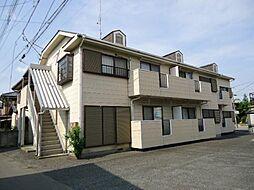 埼玉県本庄市東台2の賃貸アパートの外観