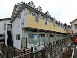埼玉県草加市北谷1丁目の賃貸アパートの外観