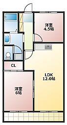 藤栄ビルディング[3階]の間取り