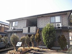 京都府京都市左京区岩倉長谷町の賃貸アパートの外観