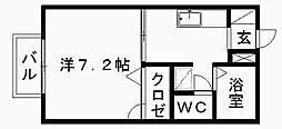 ディアスK[203号室]の間取り