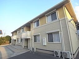 兵庫県加古川市加古川町木村の賃貸アパートの外観