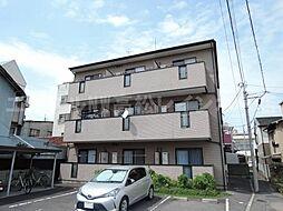 香川県高松市栗林町3丁目の賃貸マンションの外観
