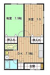 ハウス21[102号室]の間取り