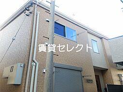 千葉県松戸市南花島中町の賃貸アパートの外観