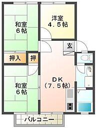 パークコートSFC C棟[2階]の間取り
