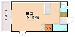 ピナクルDOZEN[2階]の間取り