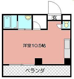 寿山ビル[312号室]の間取り