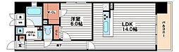 PREMIUM松屋町[6階]の間取り