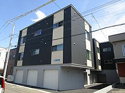 北海道札幌市東区本町二条3丁目の賃貸アパートの外観