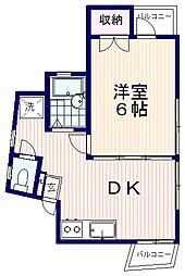 笠原ビル[3階]の間取り