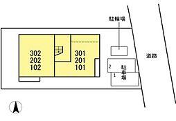 DLメゾンドリブラン [D-ROOM][2階]の間取り