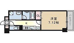 Avanyi Parco西九条[3階]の間取り