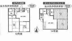 はづき荘[14号室号室]の間取り