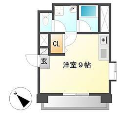 アモーレ新栄[4階]の間取り