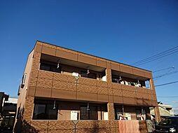 愛知県一宮市今伊勢町本神戸字牛洗の賃貸アパートの外観