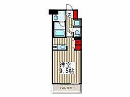 フラリッシュ東大成[2階]の間取り