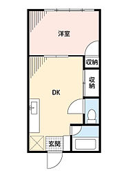 Little Villa新狭山[1階]の間取り