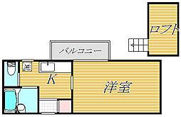 ジベ6[1階]の間取り