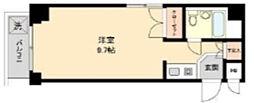 東京都新宿区新宿2丁目の賃貸マンションの間取り