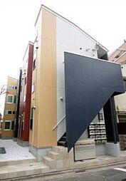 東京都足立区千住橋戸町の賃貸アパートの外観