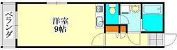 千葉県習志野市谷津6丁目の賃貸マンションの間取り