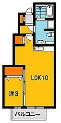 アーバンライフコート[1階]の間取り