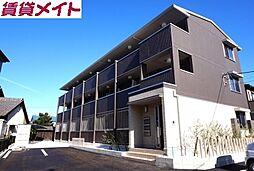 三重県四日市市新正1丁目の賃貸アパートの外観
