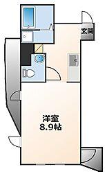 インターフェルティーR2甲子園[7階]の間取り