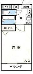 メゾンドリーム[3階]の間取り