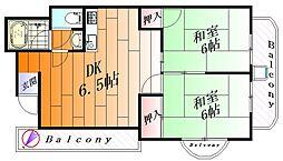 三井マンション[2階]の間取り