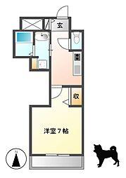 PONTE ALTO 新栄(ポンテアルト)[9階]の間取り