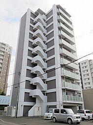北海道札幌市東区北十三条東2丁目の賃貸マンションの外観